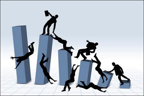 Declining Performance Chart