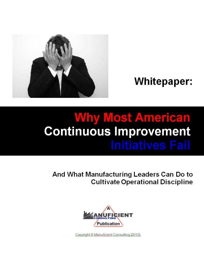 Why American CI Fails 1