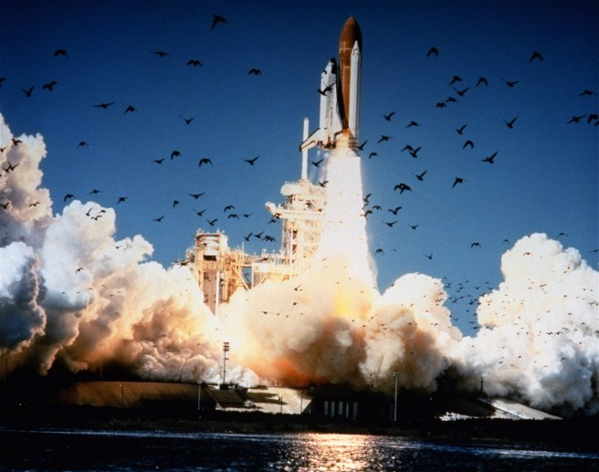 Final Launch of Challenger